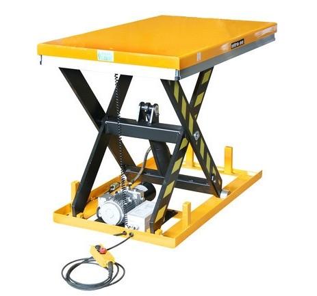 Ollós emelőasztal 400V elektromos kivitel 1000 kg 190-1010 mm hidraulikus emelőlap