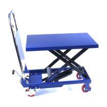 Ollós emelőasztal 150 kg 740 mm kézi szállító és hidraulikus emelő kocsi mobil emelő asztal ollóseme