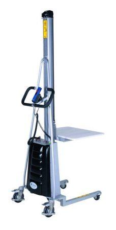 Emelhető munkaasztal, emelést könnyitő emelőasztal 150 kg 1500 mm Kiegészítők: szőnyegtüske, tekercs