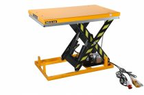 Ollós emelőasztal 400V elektromos kivitel 3000 kg 220-1020 mm hidraulikus emelőlap fixen telepíthető