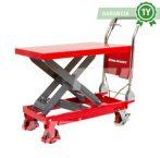 Emelőasztal 300 kg emelési magasság 290–880 mm Kézi szállító és hidraulikus emelő kocsi, ollósemelő