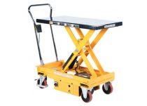 Motoros emelőasztal beépített akkumulátorral 500 kg 440-1025 mm hidraulikus ollós emelőlap mozgathat