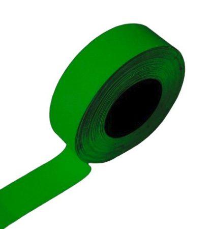 Foszforeszkáló világító szalag öntapadó kivitel 25mm x 8 méter Vészvilágító jelző, nem fluoreszkáló