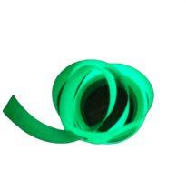 Foszforeszkáló világító szalag öntapadó kivitel 12mm x 10 méter Vészvilágító jelző, nem fluoreszkáló