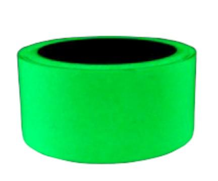 Foszforeszkáló világító szalag öntapadó kivitel 50mm x 1 méter Vészvilágító jelző, nem fluoreszkáló