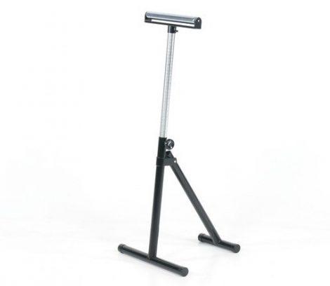 Görgős állvány 75 kg 320 mm széles állítható magasság 650-1065 mm között krómozott görgő