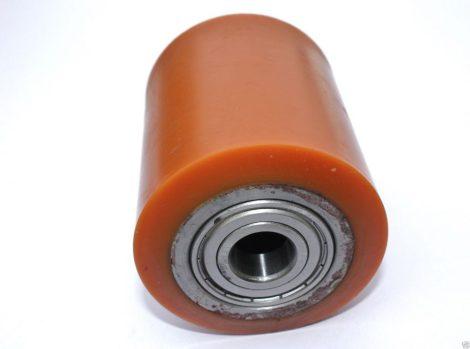 Ø 82 mm görgő raklapemelő, raklapmozgató uretán átmérő 82 mm poliuretán Szélesség: 90 mm Tengely: 17
