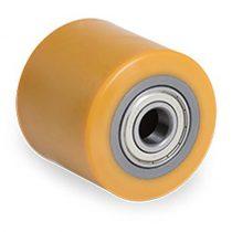 Jungheinrich 71807940 Ø 82x70 mm villagörgő raklapemelő, raklapmozgató uretán poliuretán  Átmérő: 82