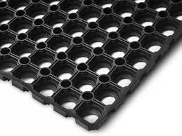 Octo Gumiszőnyeg 60x80 cm 16 mm lukacsos összekapcsolható forma