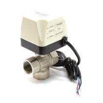 Váltószelep 3utú motoros szabályozó szelep háromutú 230V DN20 26.9mm 3/4
