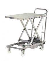 Ollós emelőasztal, kezi szallito, hidraulikus emelo kocsi 100kg
