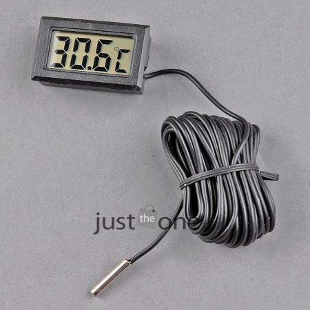 Hőmérő érzékelő kábellel hosszú 7 méteres érzékelő digitális hőmérséklet mérő