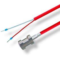 PT100 szilikon 200C homerseklet erzekelo szonda kontkakt hőmérő