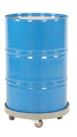 Hordószállító állvány 200 literes hordó számára 4 kerékkel