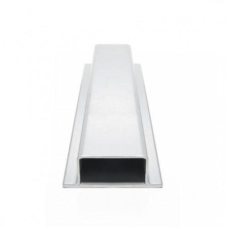 Lemez szegő profil perforált lemez keret 85x34x55 mm kezeletlen acél 2000 mm szál