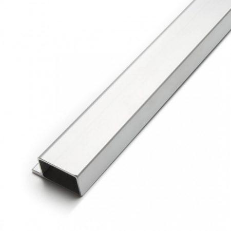 Lemez szegő profil perforált lemezhez keret 70x34x55 mm kezeletlen acél 2 méteres szál
