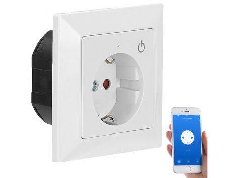 Wi-Fi-s süllyesztett konnektor alkalmazással  Siri, Alexa és Google Assistant számára