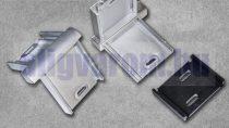 Külső sarok ezüst padlószegély eloxált alumínium csavarozható kivitelhez
