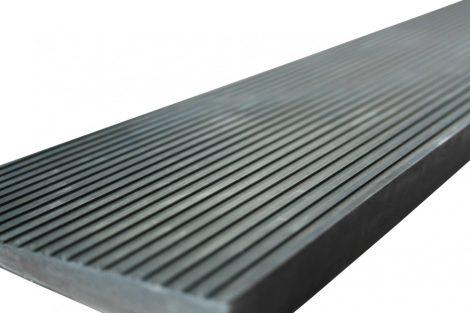 Küszöbáthidaló rámpa 45x25x900 mm Lefektethető gumi küszöb átvezető