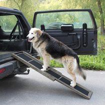 Kutyarámpa fából 97-165cm összetolható, így könnyen szállítható