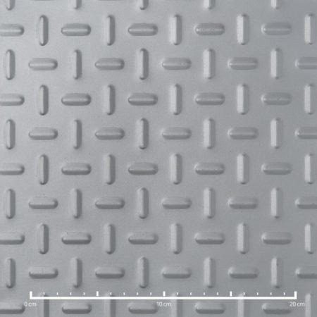Bordás lemez csúszásmentes mintás horganyzott acél ovális nyomott mintával