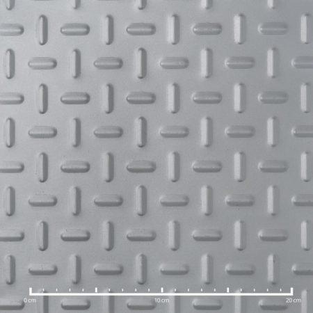 Inox bordás lemez csúszásmentes mintás Rozsdamentes acél ovális nyomott mintával 2 mm
