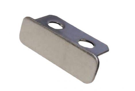 Lépcsőszegély záróprofil rozsdamentes acél