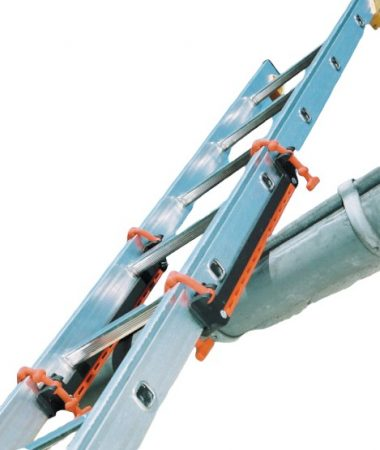 Csúszásgátló szett összecsukható és teleszkópos létrához egyaránt, ajánlott teraszhoz, ereszhez, fal