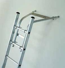 Létra stabilizátor otthoni vagy akár professzionális használathoz, falhoz támasztható távtartó