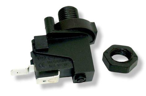 Levegős kapcsolóhoz elektromos kapcsoló. Uszodatechnika indító nyomáskapcsoló