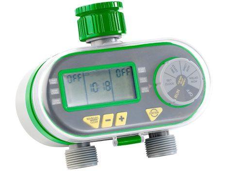 Locsolóautomata öntözésvezérlő automatika computer 2 slaghoz