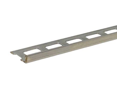 L alakú rozsdamentes fém csempeszegély kültéri beltéri inox élvédő 6 mm-es laphoz