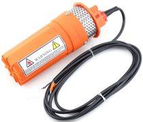 12V 60W 360 l/h mélykútszivattyú egyenáramú - Napelemről, akkumulátorról közvetlenül