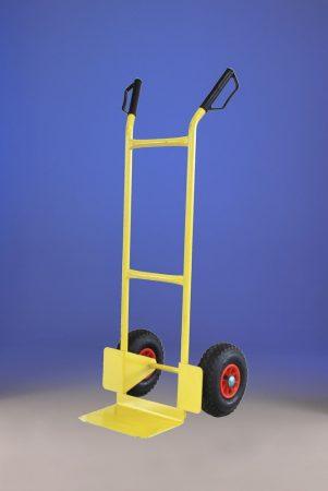 Molnárkocsi, kézikocsi 150 kg teherbírás. A rakodó felület mérete 21 x 35 cm