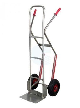 Rozsdamentes molnárkocsi AISI304 200 kg teherbírás