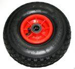 Ø 260 mm kerék pótkerék molnárkocsi, kézikocsi, kiskocsi 3.00-4 átmérő 260 mm fúvott műanyag felni