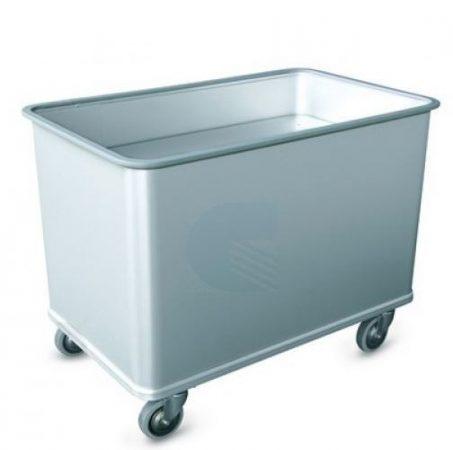 Szállodai- és mosodai kocsi, textíliák mozgatása 550 literes, könnyűfém ötvözet 1430 x 730 x 800 mm