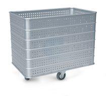 Szállodai- és mosodai kocsi 400 literes, könnyűfém lemezből 1030 x 630 x 850 mm
