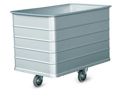 Szállodai- és mosodai kocsi 200 literes, könnyűfém lemezből 860 x 510 x 650 mm