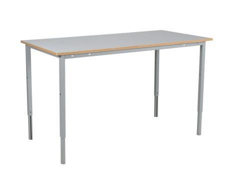 Munkaasztal ipari kivitel 1600 mm 150 kg teherbírás állítható magasság 720-970 mm