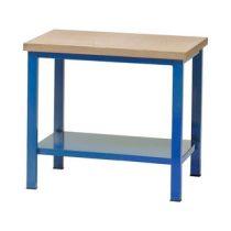 Műhelyasztal ipari kivitel 40 mm rétegelt lemez munkalap 700 kg teherbírású munkaasztal 120x75x88 cm