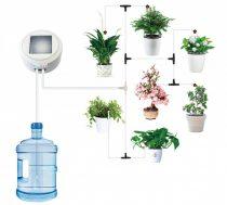 1 körös napelemes öntözőrendszer, akár 20 kis növény öntözésére is alkalmas. Locsolás, csöpögtetés,
