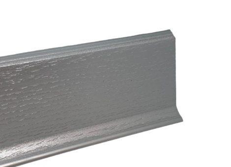 Padlószegély SOFT ezüst műanyag ragasztható vékony 2,5 méteres szál