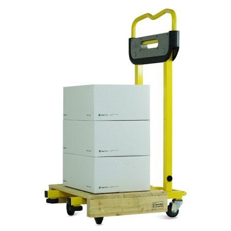 Pallea Comfort raklapmozgató zseniálisan egyszerű és nagyszerű 400 kg teherbírás csak 22 kg 600 mm v