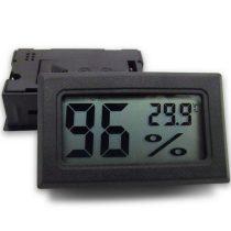 Beépíthető higrométer és hőmérő Páratartalom mérő kábel nélküli, beépíthető, digitális légnedvesség