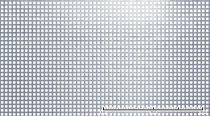 Perforált lemez rozsdamentes acél 1000x2000mm tábla 5x5 mm lyuk hálós osztással