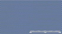 Saválló perforált lemez 5 mm