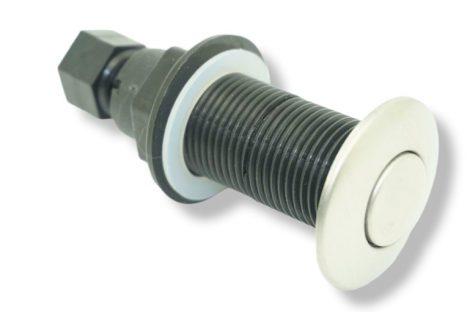 Pneumatikus nyomógomb ø 25mm levegős kapcsoló jakuzzi, medence, konyhamalac, hulladékaprító indító