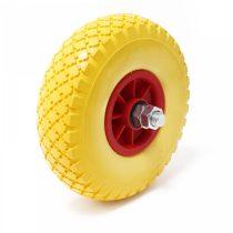 Ø 300 mm defektmentes gumi kerék pótkerék kézikocsi kiskocsi molnárkocsi 3.00x4