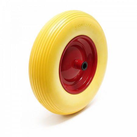 Ø 400 mm defektmentes gumi kerék pótkerék kézikocsi kiskocsi molnárkocsi 4.00x8 átmérő 400 mm